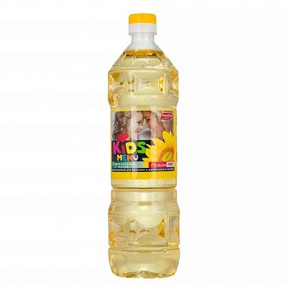 Масло «KIDS MENU» подсолнечное рафинированное дезодорированное вымороженное марки «Премиум»