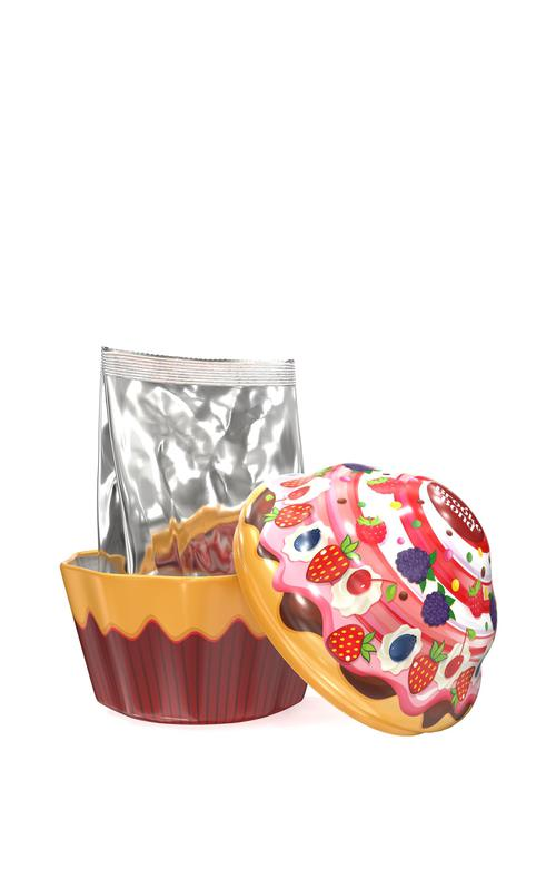 фото7 Набор Brooke Bond чай черный листовой в жестяной банке в форме кекса