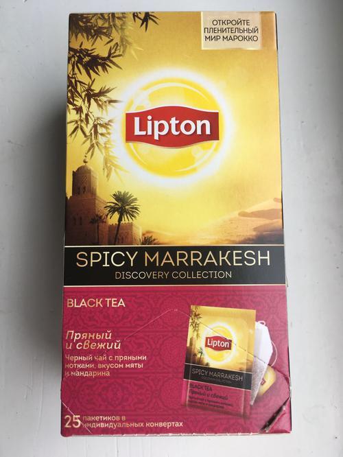 фото1 Чай Lipton пряный и свежий