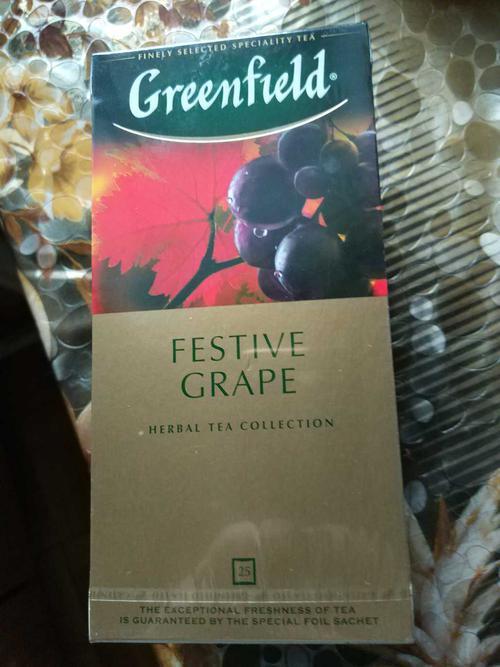фото1 Напиток чайный Гринфилд Фестив Грейп в пакетиках