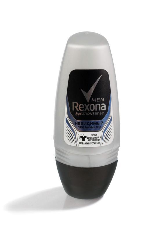 описание Дезодорант Rexona Man Invisible Ice, ролик, 50мл