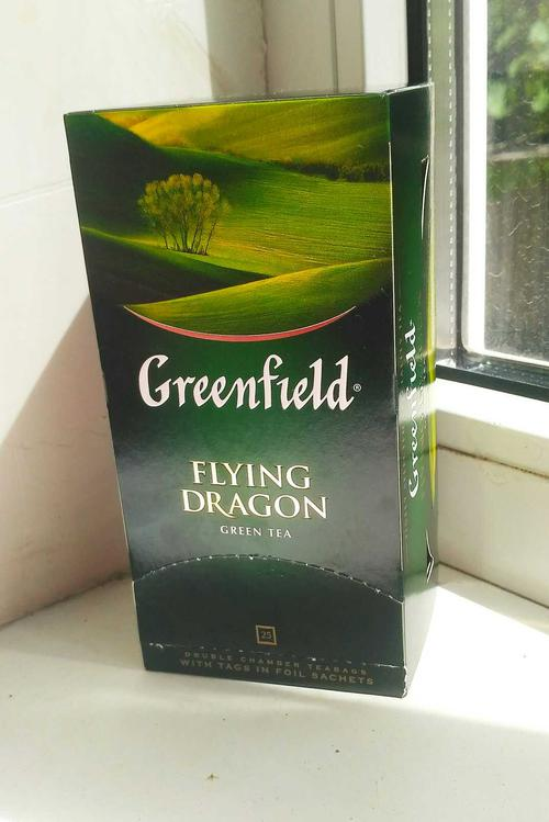 фото3 Чай зеленый байховый Гринфилд Флаинг Драгон в пакетиках