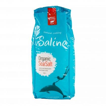 100% натуральная морская соль «Salina Organic Sea Salt»