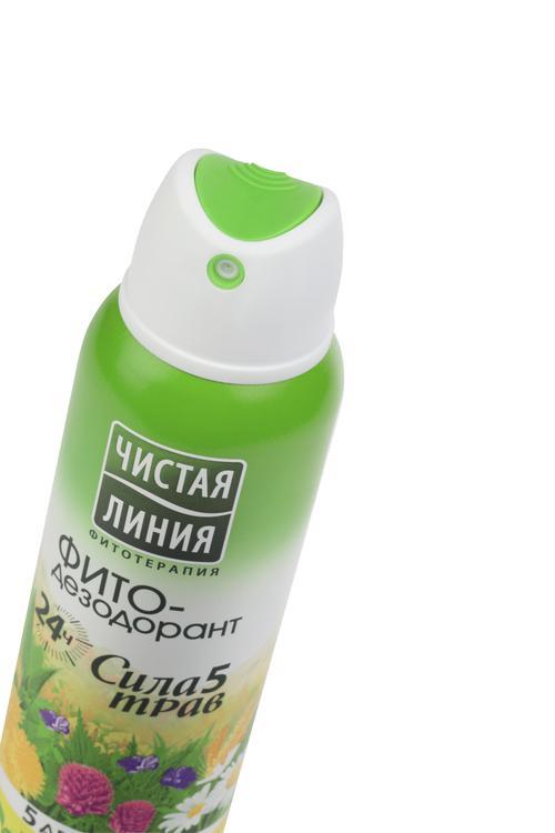 цена Чистая линия ФИТО-дезодорант Сила 5 трав 24 ч