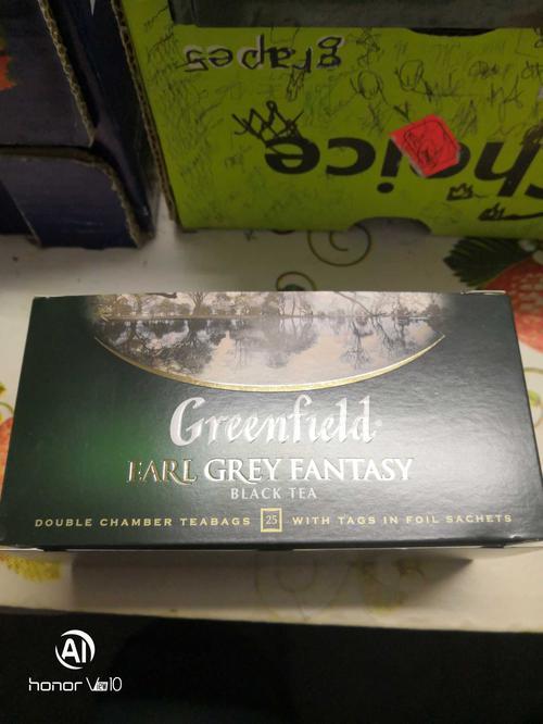 фото3 Чай черный байховый Гринфилд Эрл Грей Фэнтази в пакетиках