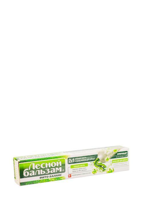 отзыв Зубная паста лесной бальзам с бальзамом для десен 2 в 1