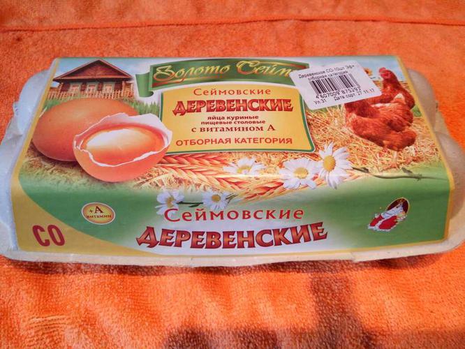 отзыв Яйца куриные пищевые столовые