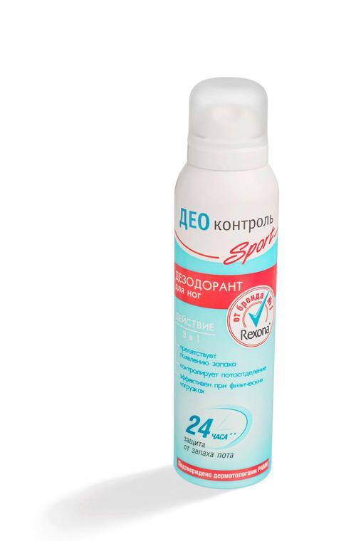 описание Дезодорант для ног калина део контроль спорт лечение 150мл