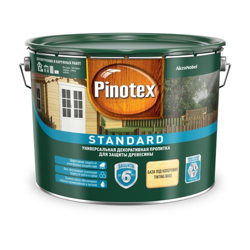 Пропитка Pinotex стандарт 9л база clr