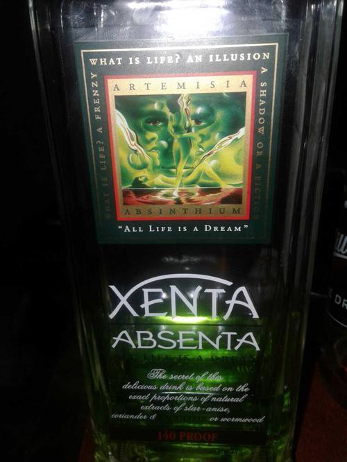"""Спиртной напиток абсент """"Ксента"""""""