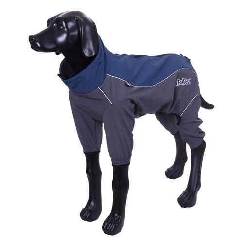 Комбинезон для собак RUKKA Windmaster Solid синий 30см