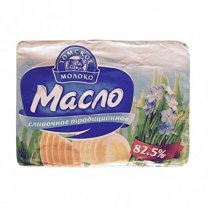 """Масло сладко-сливочное несоленое """"Традиционное"""". Массовая доля жира 82.5%"""
