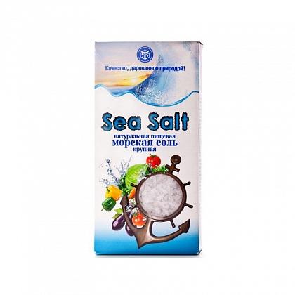 Соль поваренная пищевая молотая «Sea Salt» (морская соль крупная Илецкая)