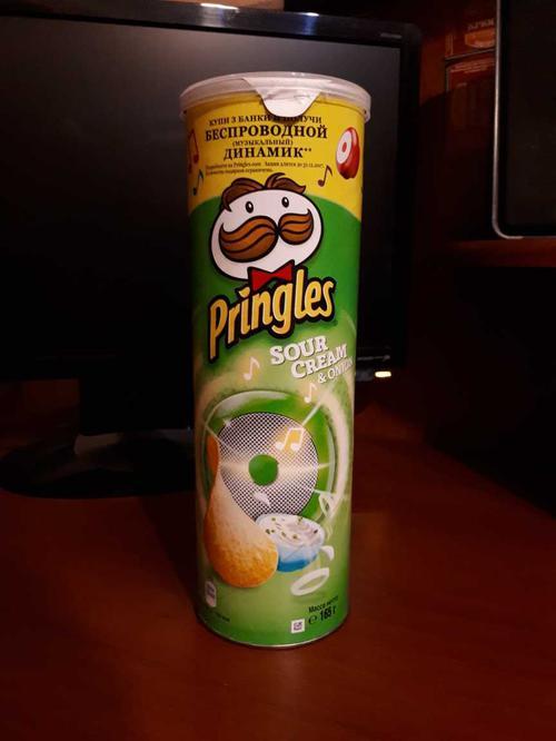 фото16 Чипсы Pringles со вкусом сметаны и лука, 165гр.