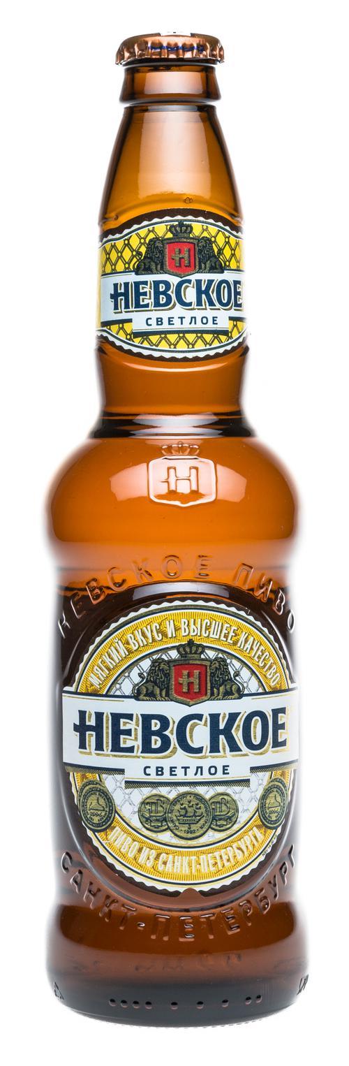 Пиво светлое Невское Светлое