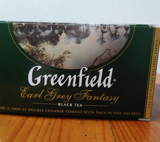 фото1 Чай черный байховый Гринфилд Эрл Грей Фэнтази в пакетиках
