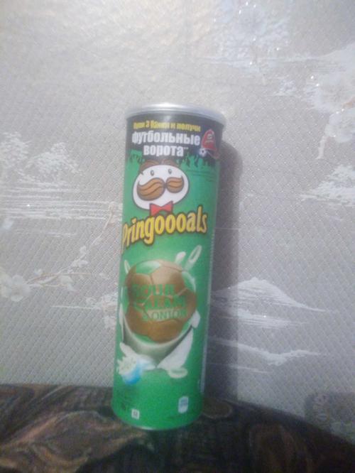 фото2 Чипсы Pringles со вкусом сметаны и лука, 165гр.