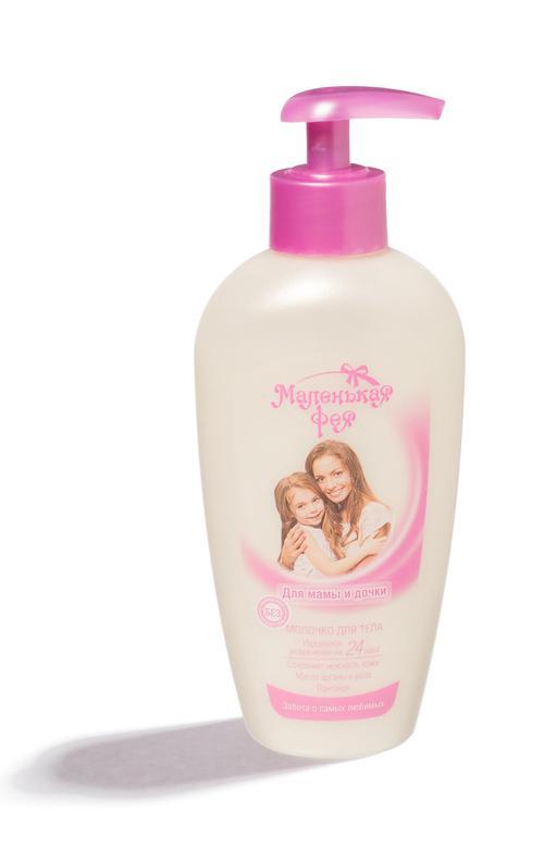 """Молочко для тела """"для мамы и дочки""""маленькая фея"""