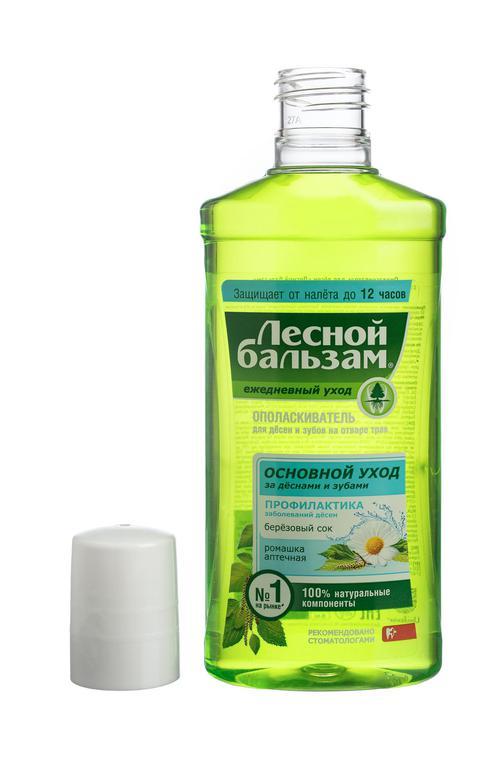 цена Ополаскиватель для дёсен лесной бальзам с экстрактом ромашки и березовым соком на отваре трав