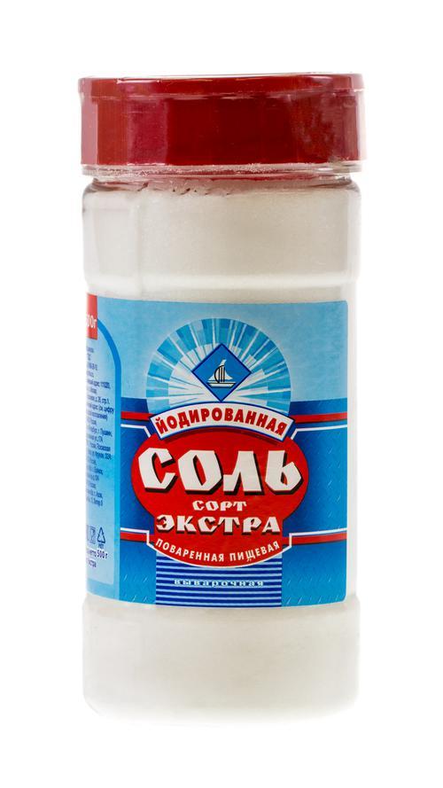цена Соль поваренная пищевая йодированная выварочная, сорт «Экстра»