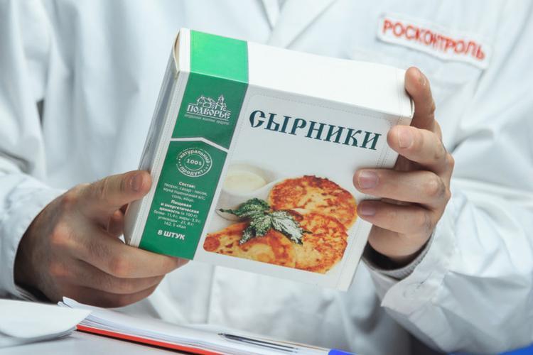 """Сырники """"Подворье"""" замороженные"""