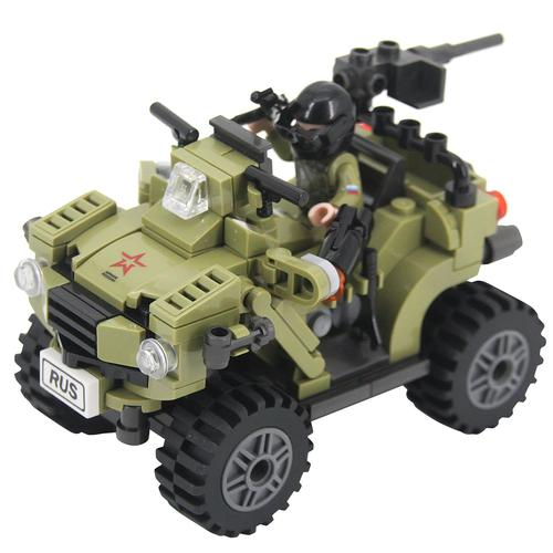 Конструктор Армия России Военный квадроцикл АР-01003