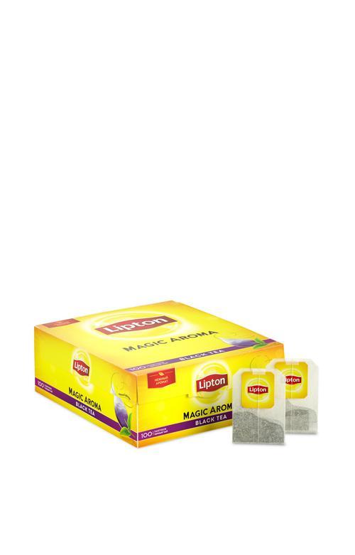 описание Чай черный байх ароматизрованный lipton magic aroma 12х100пакх2г