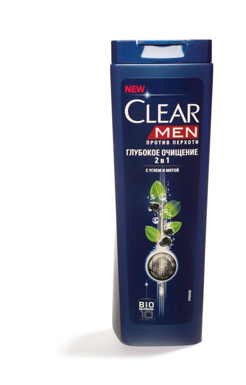 """Шампунь для непослушных волос и сухой проблемной кожи головы """"CLEAR VITA ABE MEN"""" Против перхоти, 400мл"""