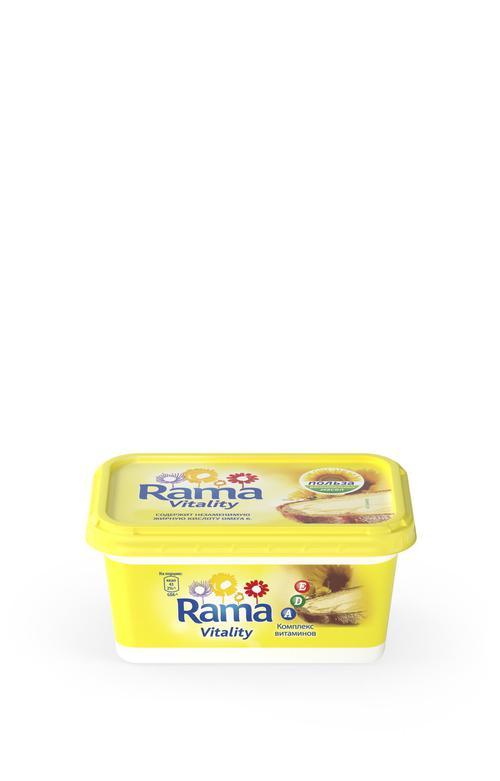 """описание Маргарин """"Rama vitality"""", 475"""