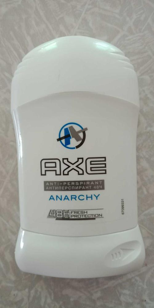 фото Антиперспирант карандаш AXE Dry Anarchy men, 50 мл.