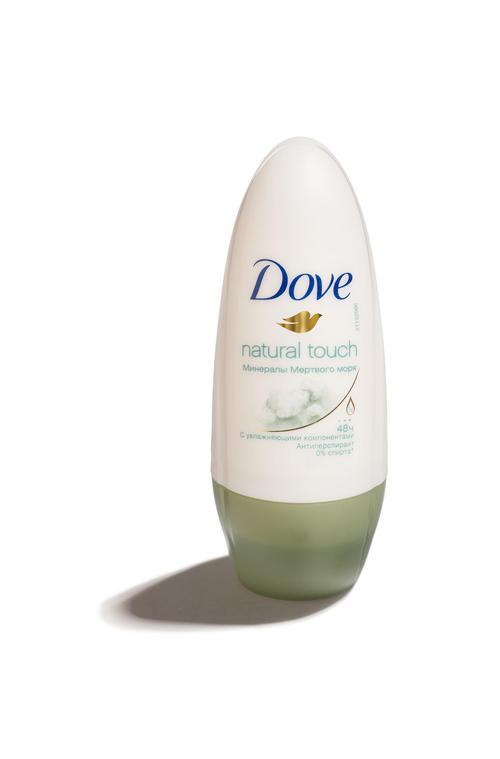описание Антиперспирант Dove Прикосновение природы 50ml