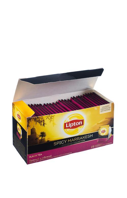 отзыв Чай Lipton пряный и свежий