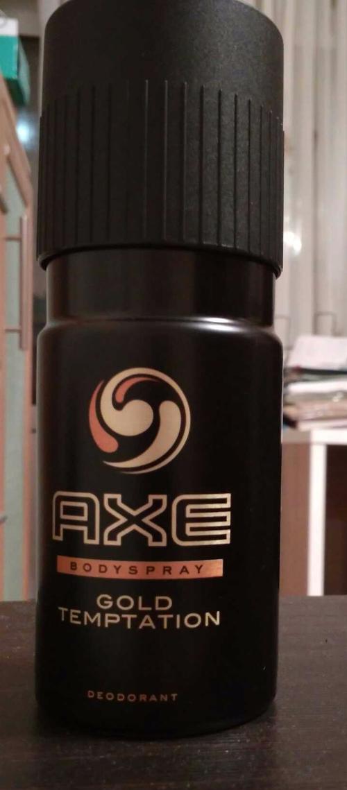 фото7 Дезодорант Axe аэрозоль голд темптейшн 150мл 150мл