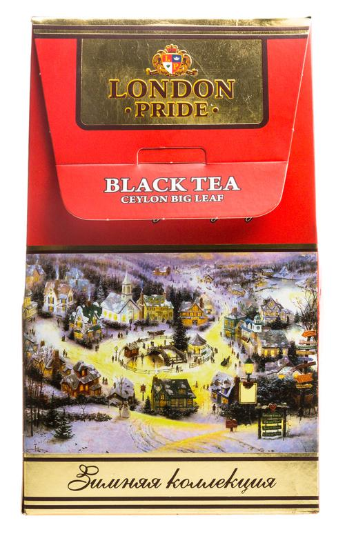 """""""LP"""" (Лондон прайд) """"Зимнее искушение"""" цейлонский черный байховый листовой чай (ОРА), к/к 100г"""