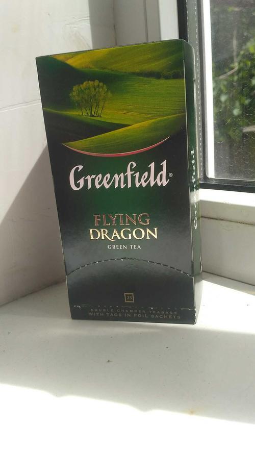 фото2 Чай зеленый байховый Гринфилд Флаинг Драгон в пакетиках