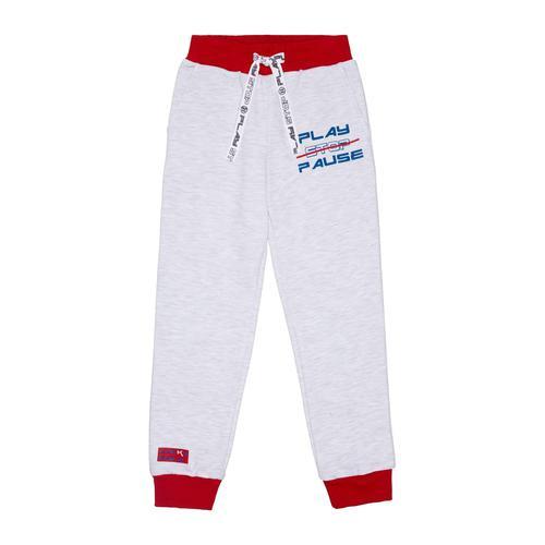 Спортивные брюки Lucky Child Больше пространства серые 98-104