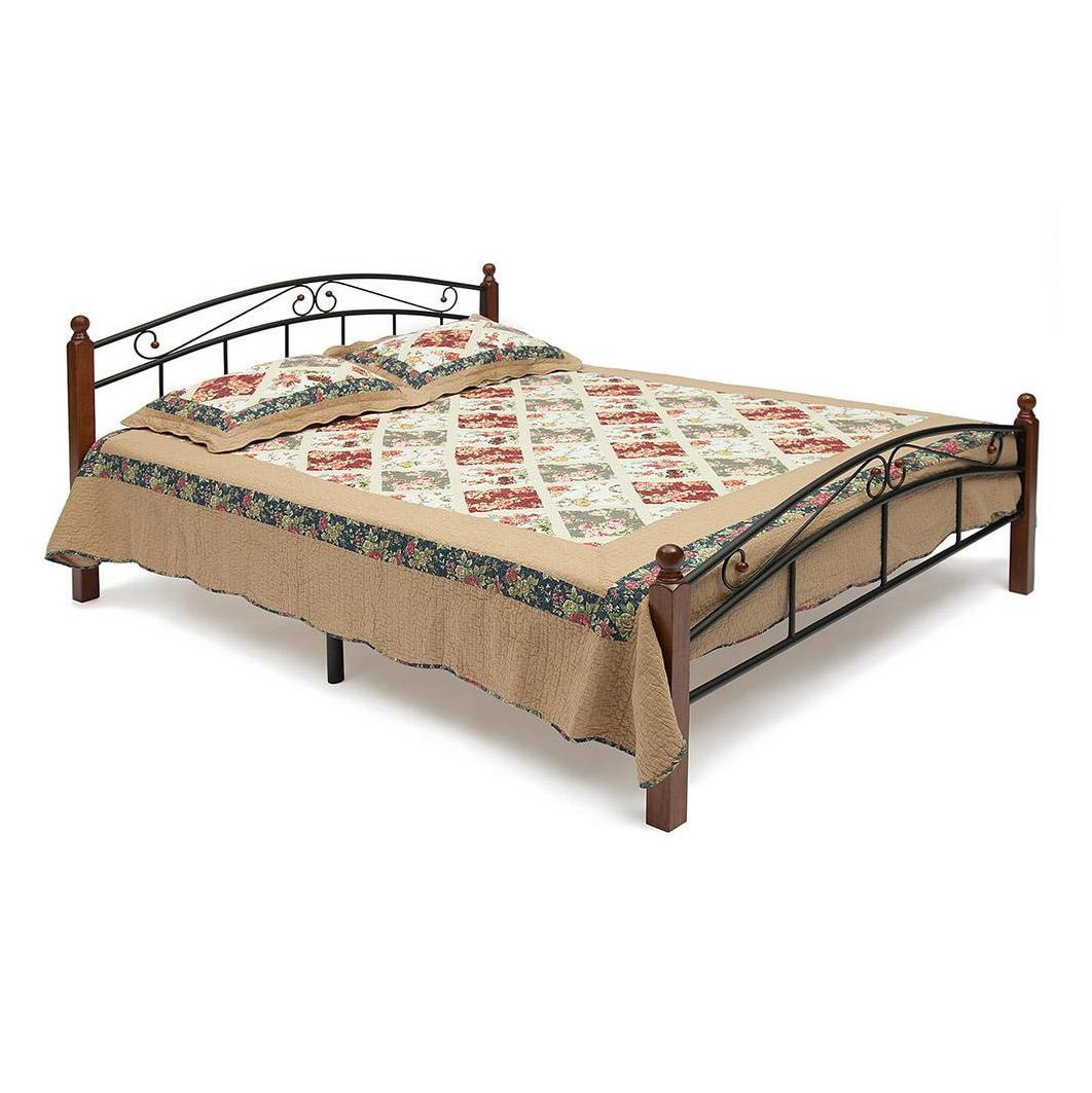Кровать двуспальная TC AT-8077 200х90 см