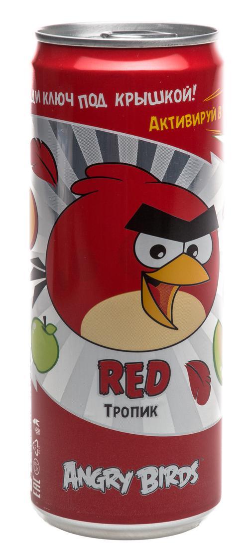 """Газированный напиток Angry Birds """"Тропик"""""""