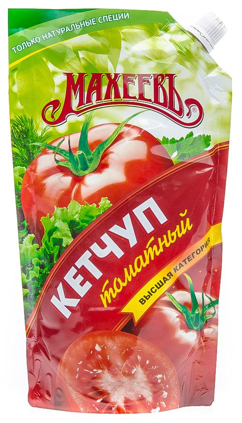 """Кетчуп """"Махеев"""" томатный. Первая категория."""