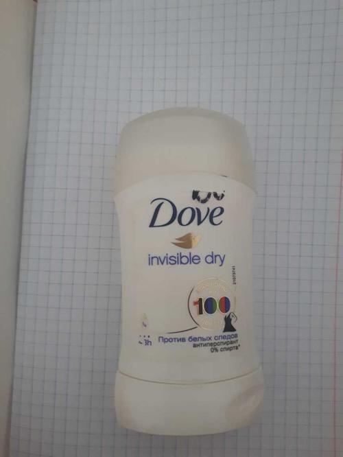 "стоимость Антиперспирант-карандаш ""Dove"" Невидимый, 0% спирта, 40мл"