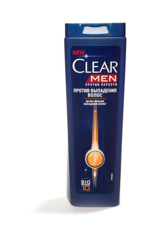 описание Шампунь Clear Vita ABE против перхоти для мужчин против выпадения волос, 400мл.