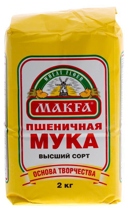 Мука пшеничная хлебопекарная «MAKFA»