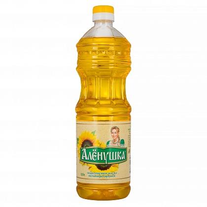 Масло подсолнечное нерафинированное «Аленушка»