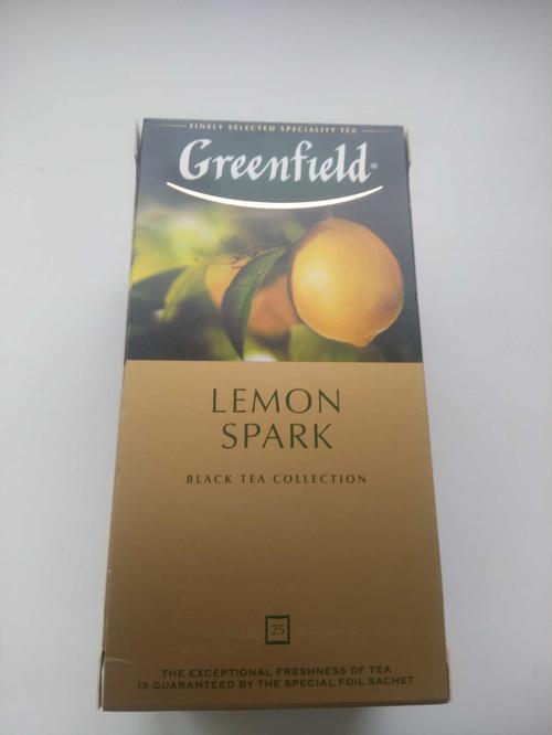 стоимость Чай черный байховый Гринфилд Лемон Спарк в пакетиках