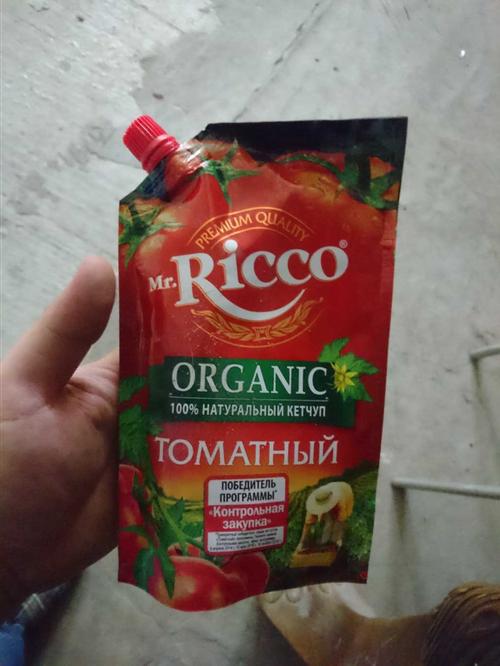 фото5 Кетчуп томатный Pomodoro Speciale Mr.Ricco. Высшая категория. Пастеризованный.
