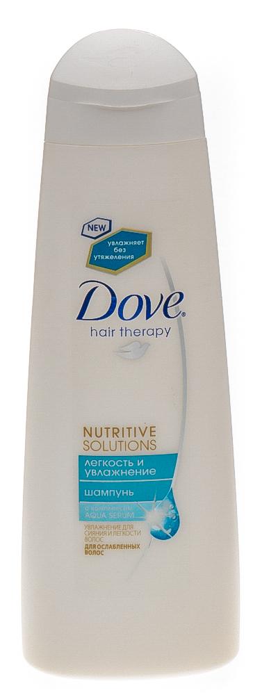 """Dove """"Nutritive Solutions"""" шампунь """"Легкость и увлажнение"""", 250 мл"""