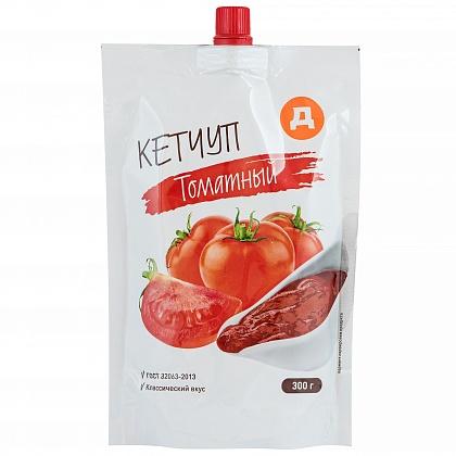 Кетчуп Томатный  первой категории. Нестерилизованный.
