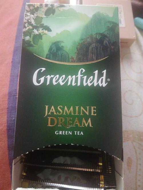 описание Чай зеленый байховый Гринфилд Жасмин Дрим в пакетиках