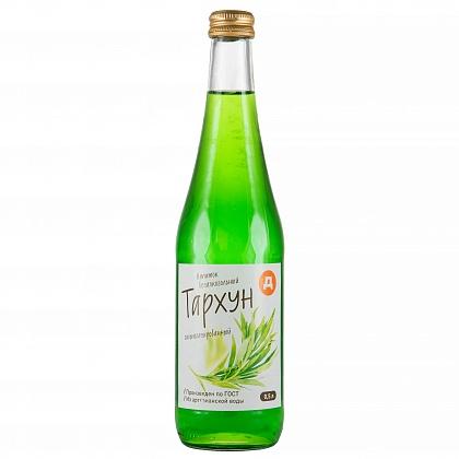 Напиток безалкогольный сильногазированный «Тархун» . Пастеризованный