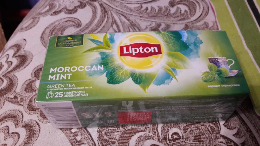 стоимость Чай зеленый байховый ароматизированный moroccan mint green tea 24х25пх1.6г